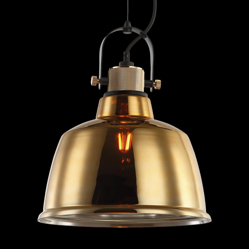 Glass Replica Industrial Warehouse Style Pendant Light